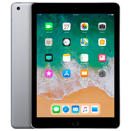 Планшет Apple iPad (2018) 32GB Wi-Fi Space Grey (MR7F2RU/A) в ДНС